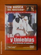 DVD LUZ Y TINIEBLAS - DE LA UMBANDA AL CANDOMBLE - EN BUSCA DEL MISTERIO 10 (K6)