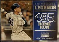 2018 Topps Series 2 AARON JUDGE Longball Legends GOLD #49/50 SP! Yankees