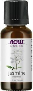 NOW Jasmine Fragrance 1oz 30ml  Essential Oil, Clearance for stained bottle