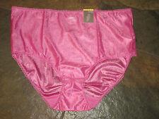 TREASURE Mauve Pink Silky Smooth Lace Trim Brief Panties Plus Size 10/3X NWT