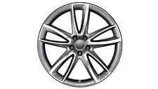 Original Audi A8 4H Aluminium-Felge im 5-Arm-Parabol-Design anthrazit 20 Zoll