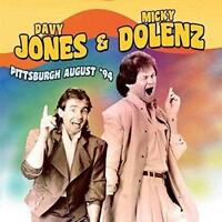 DAVY JONES & MICKY DOLENZ – LIVE PITTSBURGH AUGUST '94 2CDs (NEW/SEALED) Monkees