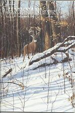 Pennsylvania Game News December 2000 cover by Mark Anderson white tail buck