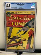 Detective Comics #98 CGC 5.5 F- Batman Robin Dick Sprang Art 1945!