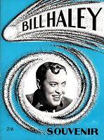 BILL HALEY & HIS COMETS ORIGINAL 1968 UK TOUR CONCERT PROGRAM BOOK / BOOKLET NMT