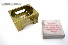 British Army Issue Stove With Fuel | Multi Fuel Hexi Cooker Ration Heater Burner