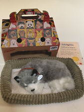 Perfect Pets Petzzz Alaskan Husky Dog Plush with Dog Bed Box and Certificate