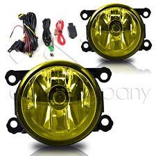 For 2012-2016 Impreza Fog Lamps Pair w/Wiring Kit - Yellow