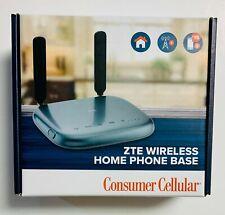 Consumer Cellular ZTE Wireless Home Phone Base Model:WF723CC