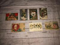 Vintage Postcards Handwritten Valentines Day Easter Cleveleand Ohio 1909 1910