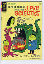 the Weird World of Mr. and Mrs. J.Evil Scientist #3 Gold Key 1965
