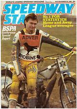 Speedway Star Magazine - November 22 1986