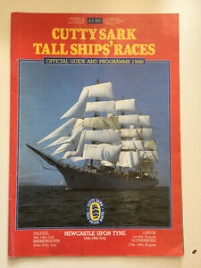 Cutty Sark Tall Ships Race Official Programme 1986