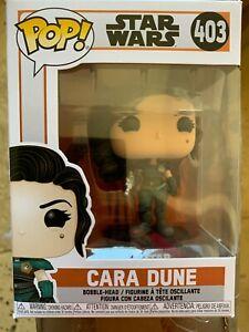 STAR WARS Cara Dune Funko Pop Vinyl 403 NEW
