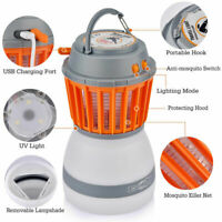 UV LED Electric Fly Insect Bug Pest Mosquito Trap Zapper Killer Night Lamp USB