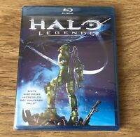 HALO LEGENDS BLU-RAY DISC PELÍCULA NUEVA PRECINTADA NEW Xbox One X 360