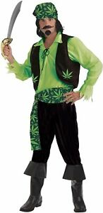Forum Novelties Men's High Seas Cannabis Pirate Costume