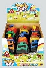 Pack Of 12 - 12cm Toddle Tots Chunky Trucks - Assorted Colours -  (HL13) x12