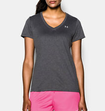 Under Armour Damen T-shirt Tech SSV Anthracite s