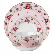 Royal Albert New Country Roses Pink 60Pc China Set, Service for 12