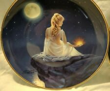 "Jeane Dixon Crystal Reflections - K.Reinert Series 8"" Porcelain Plate limited"
