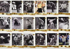 (10) 2001 UD Upper Deck Golf Jack Nicklaus The Golden Bear Sub Sets 18 Cards