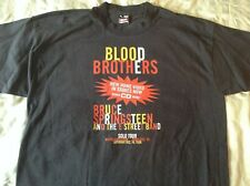 Bruce Springsteen Blood Brothers T-Shirt The E Street Band Solo Tour 1996