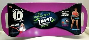 As Seen on TV- Simply Fit Board with workout DVD - PURPLE