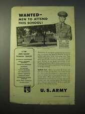 1951 U.S. Army Ad - Engineering School, Ft. Belvoir VA