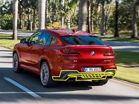 Neuf D'Origine BMW 4x G02 Panneau de Garniture Pare-Choc Arrière Bas Gelé Gris