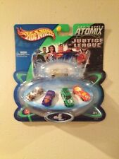 HOT WHEELS ATOMIX JUSTICE LEAGUE SET! NEW! NM!