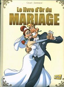 Livre humour le livre d'or du mariage Jacky Goupil book