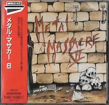 Metal Massacre 6 CD GIAPPONE OBI 1994 Metal Blade Nasty Savage Hades reliquia's Eve