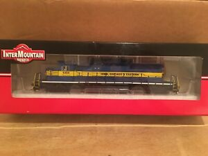 HO Intermountain Iowa Chicago & Eastern SD40-2 Locomotive ICE #6404 DC/DCC SOUND