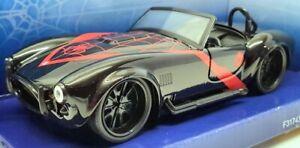 "Jada 1/32 Scale Model Car 31743 - 1965 Shelby Cobra 427 S/C ""Spiderman"" - Black"