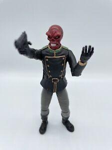 "Toybiz Marvel Legends Series 5 Red Skull 6"" Loose Captain America"
