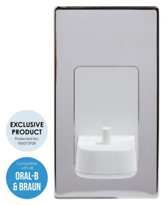 ProofVision TBCHARGE In Wall Electric Toothbrush Charger - Polished Steel