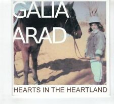 (HD756) Galia Arad, Hearts In The Heartland - DJ CD