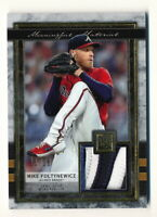 MIKE FOLTYNEWICZ 2020 TOPPS MUSEUM COLLECTION MEANINGFUL MATERIAL PATCH #11/25