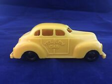 Vintage 1950 Sears Catalog Plastic Yellow Taxi U.S.A
