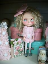 Very Scarce Designer DOLLMOFEE Pink Ice Cream Set Outfit For Blythe Doll 2pieces