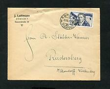 Schweiz - Portogerechte EF von 1927, nach Deutschland   (#1890)