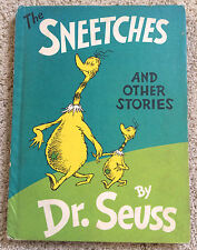 """The Sneetches - Vintage 1961 Dr Seuss - 8.25"""" x 11"""" book"""