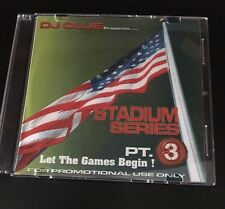 DJ CLUE Stadium Series 3 LET THE GAMES BEGIN Classic NYC Mixtape CD