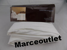 Hudson Park Italian Linens KING EXTRA DEEP Fitted Sheet White
