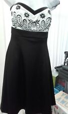 Evie collection strapless dress size 12 Party/Ball/cruise/christmas BNWT