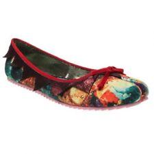 Zapatos planos de mujer de color principal rojo talla 36