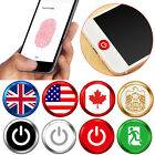 Home Button Sticker Button Fingerprint Indentification Touch ID For iPhone iPad