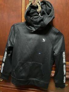Abercrombie Kids Black Hoodie Size 9/10