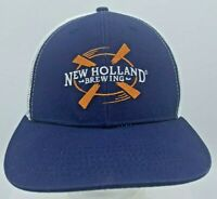 New Holland Brewing Embroidered Snapback Trucker Hat Brewerania Beer